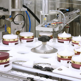 Cosmetic filling line solution